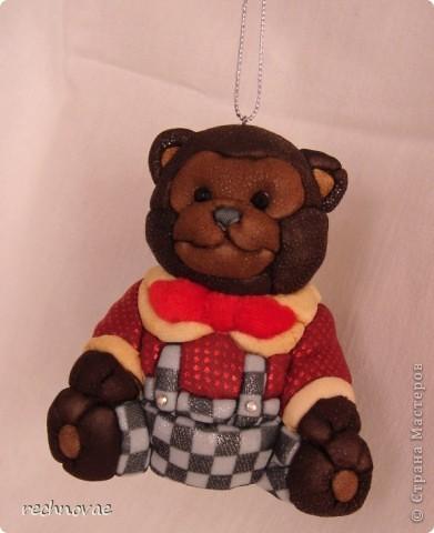 Вот такой медвежонок поселится на моей елке в этом новом году