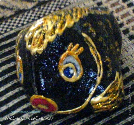 Рыбка из шунгита фото 1