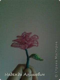 Вот решила вспомнить, что такое бисероплитение) На меня когбудто нашло озорения и я сделала 3-и розы, правдо остальные две ещё на дороботке) фото 2