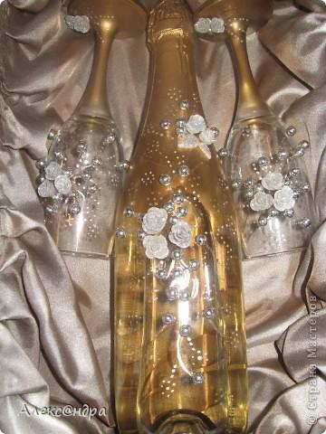 Набор!Бутылка и 2 бокала в подарок! фото 1