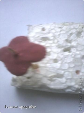 """Чем только не украшали на нашем сайте """"деревья счастья""""! Бумага, ленты, кофе, розы... Теперь дошла очередь до фиалок. фото 8"""