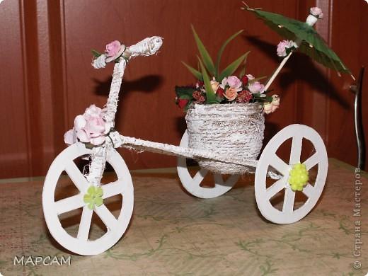 Велосипед декоративный  мастер класс