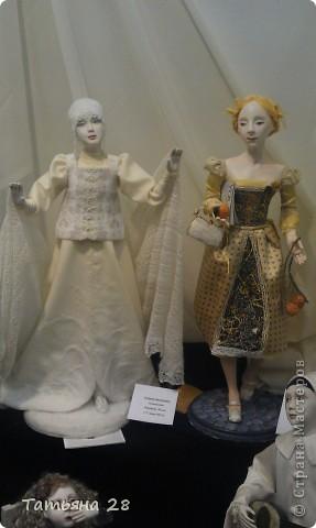 """Сегодня был последний день """"Международной выставки кукол"""". Хочу показать Вам фоторепортаж с выставки. Комментировать не буду, кто автор какой куклы)))) Просто посмотрим.....  фото 11"""
