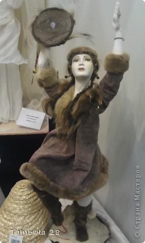 """Сегодня был последний день """"Международной выставки кукол"""". Хочу показать Вам фоторепортаж с выставки. Комментировать не буду, кто автор какой куклы)))) Просто посмотрим.....  фото 12"""