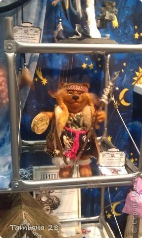 """Сегодня был последний день """"Международной выставки кукол"""". Хочу показать Вам фоторепортаж с выставки. Комментировать не буду, кто автор какой куклы)))) Просто посмотрим.....  фото 3"""