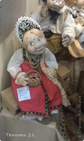 """Сегодня был последний день """"Международной выставки кукол"""". Хочу показать Вам фоторепортаж с выставки. Комментировать не буду, кто автор какой куклы)))) Просто посмотрим.....  фото 6"""