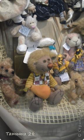 """Сегодня был последний день """"Международной выставки кукол"""". Хочу показать Вам фоторепортаж с выставки. Комментировать не буду, кто автор какой куклы)))) Просто посмотрим.....  фото 7"""