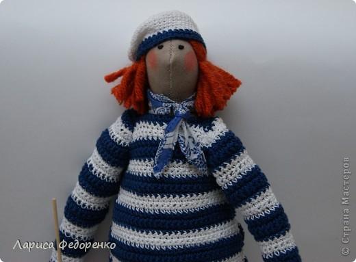 Кукла Тильда морячок фото 2