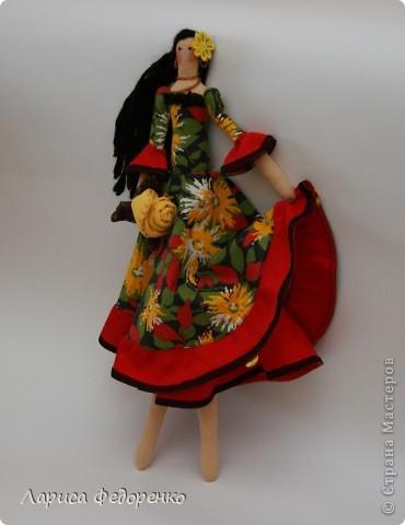 Кукла Тильда цыганка фото 1