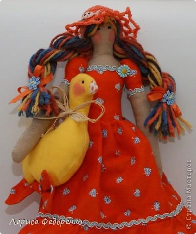 Кукла Тильда осенняя хозяюшка  Варвара фото 1