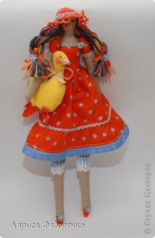 Кукла Тильда осенняя хозяюшка  Варвара фото 2
