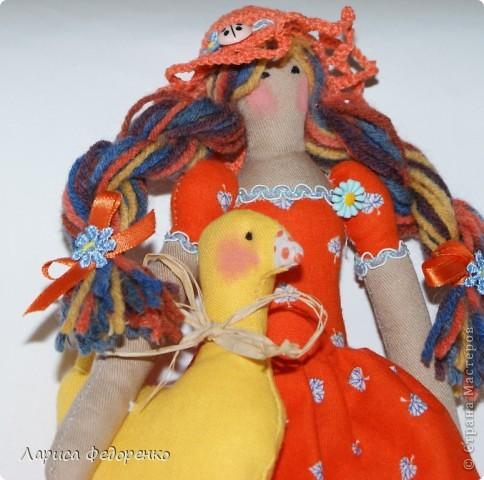 Кукла Тильда осенняя хозяюшка  Варвара фото 3