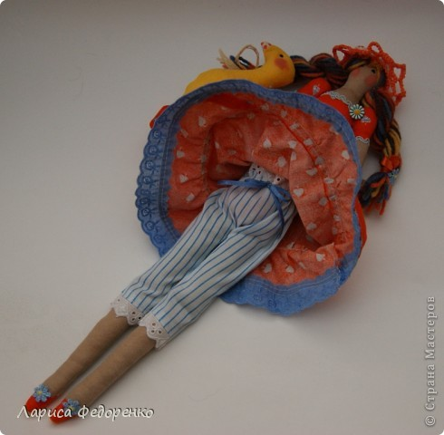 Кукла Тильда осенняя хозяюшка  Варвара фото 4