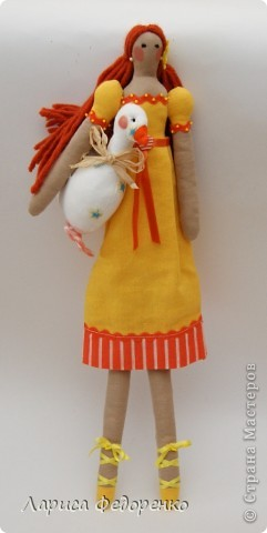 Кукла Тильда- хозяюшка Феня фото 1