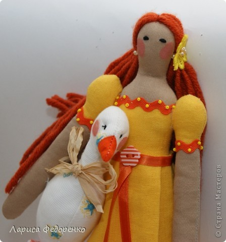 Кукла Тильда- хозяюшка Феня фото 2