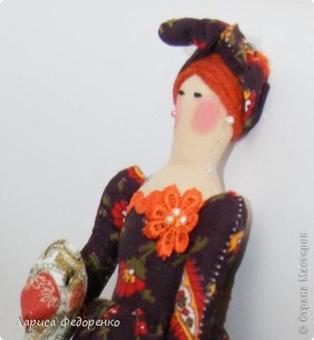 Кукла Тильда  хозяюшка Фёкла фото 5