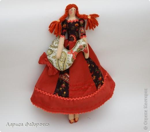 Кукла Тильда хозяюшка Дуняша фото 1