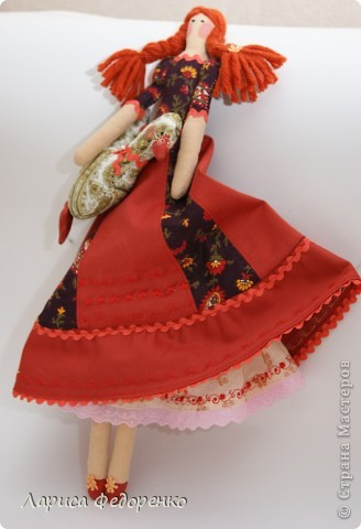 Кукла Тильда хозяюшка Дуняша фото 3