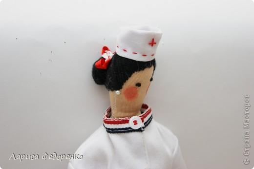 Кукла Тильда врач скорой помощи фото 4
