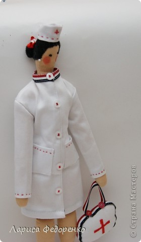Кукла Тильда врач скорой помощи фото 2