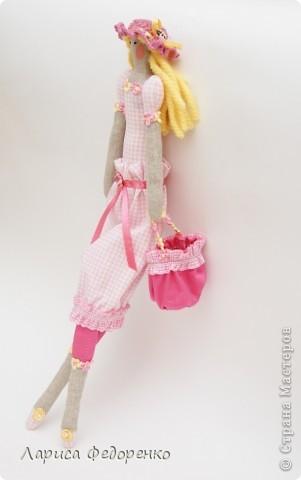 Кукла Тильда фрау Кларисса фото 4
