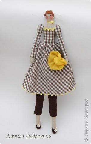 Кукла Тильда фрау Тони фото 1