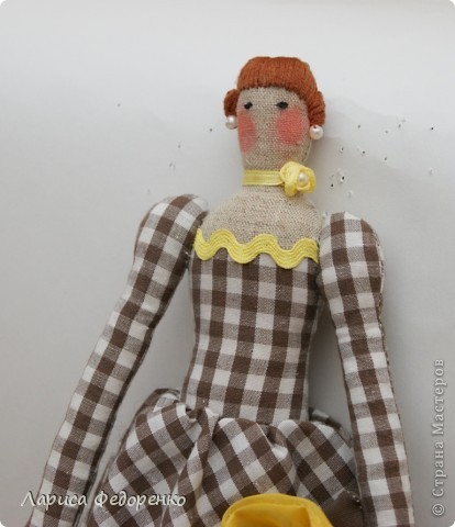 Кукла Тильда фрау Тони фото 2