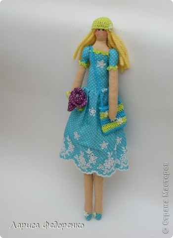 Кукла Тильда фрау Регина фото 4