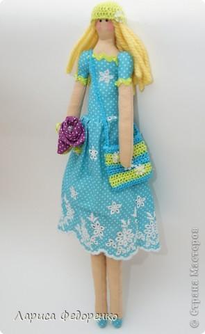 Кукла Тильда фрау Регина фото 1