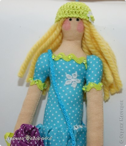 Кукла Тильда фрау Регина фото 2