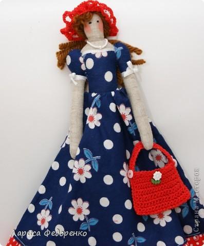Кукла Тильда фрау Берта фото 2