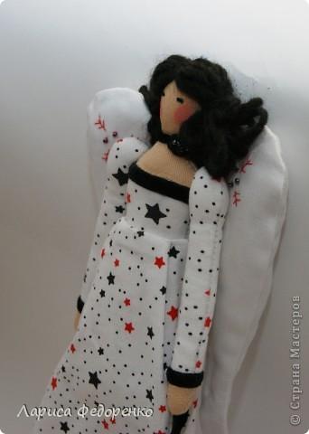 Кукла Тильда винтажный ангел Звёздочка фото 2