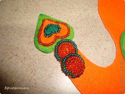 Это панно сделанно в новой технике - бисерный квиллинг! Процесс в точности, как у квиллинга, за одним исключением, бумажные полосы из бисера! фото 48