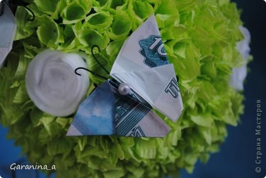 Деревце с денежными бабочками фото 3