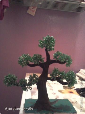 Деревья и цветы из бисера. фото 1