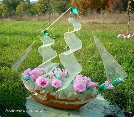 сваяла я ещё один кораблик... фото 1