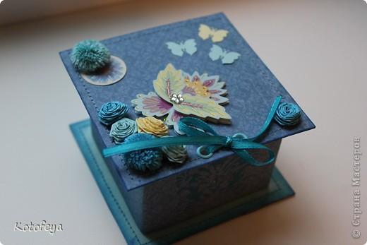 Подарок для моей подруги на день рождения. Вот такой загадочный цветок, из которого летят бабочки фото 2