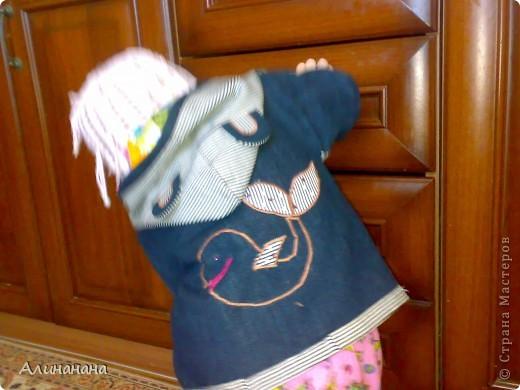 Джинсовая курточка шилась на машинке Джаноме самой простой, которая выполняет строчку и зигзаг фото 1