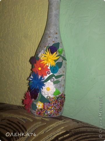 Вот такую бутылочку я сделала папе))))) фото 1