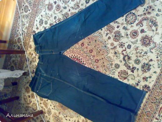 Джинсовая курточка шилась на машинке Джаноме самой простой, которая выполняет строчку и зигзаг фото 3