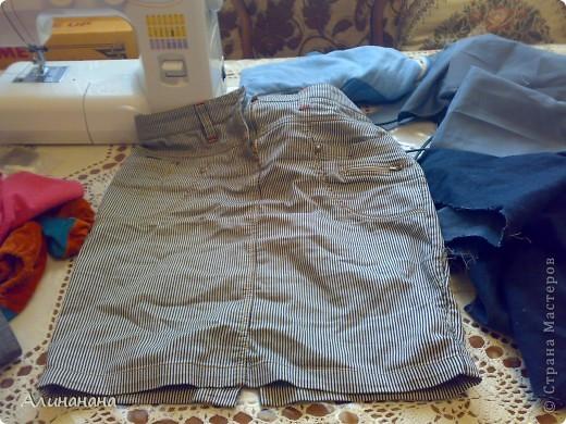 Джинсовая курточка шилась на машинке Джаноме самой простой, которая выполняет строчку и зигзаг фото 4