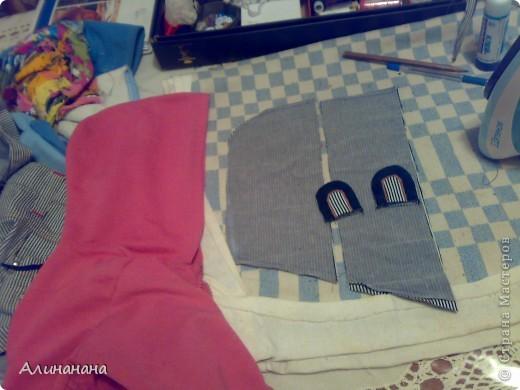 Джинсовая курточка шилась на машинке Джаноме самой простой, которая выполняет строчку и зигзаг фото 5