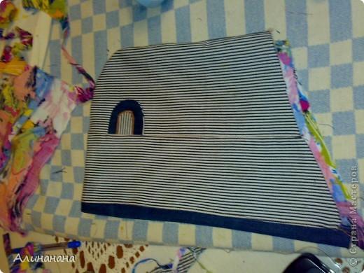 Джинсовая курточка шилась на машинке Джаноме самой простой, которая выполняет строчку и зигзаг фото 6