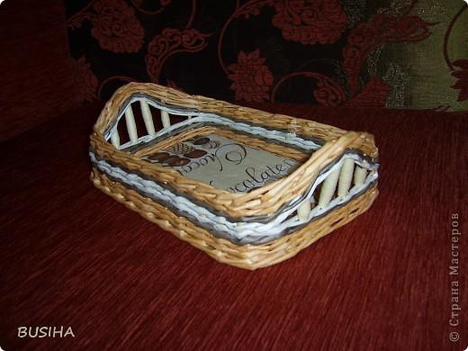 корзиночка в подарок. покрыта 2 раза ПВА+вода 1:1 фото 4