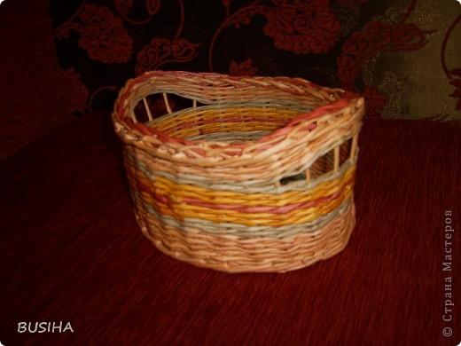 корзиночка в подарок. покрыта 2 раза ПВА+вода 1:1 фото 1