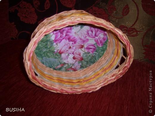 корзиночка в подарок. покрыта 2 раза ПВА+вода 1:1 фото 3