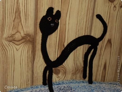 Просящий котик (он звенит, в голове теннисный шарик с бусинками). фото 2