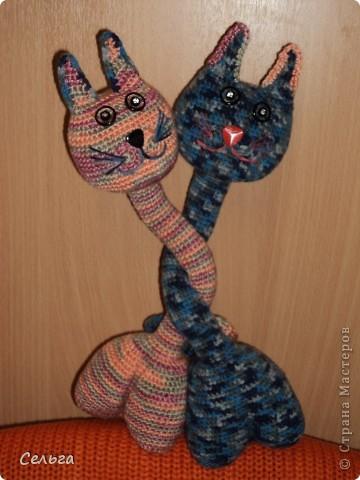 Просящий котик (он звенит, в голове теннисный шарик с бусинками). фото 5