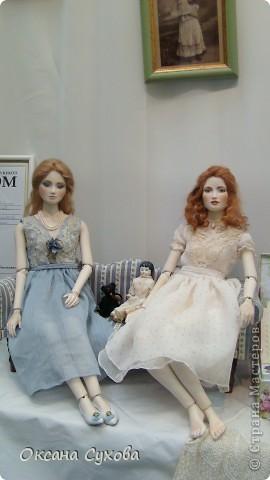 7 Международный Салон Кукол Москва ТЦ Тишинка /3 часть/ фото 45