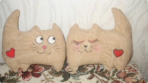 Влюблённые коты . фото 6